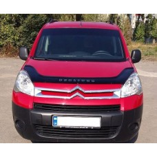 Дефлектор капота (мухобойка)  Citroen Berlingo c 2008г